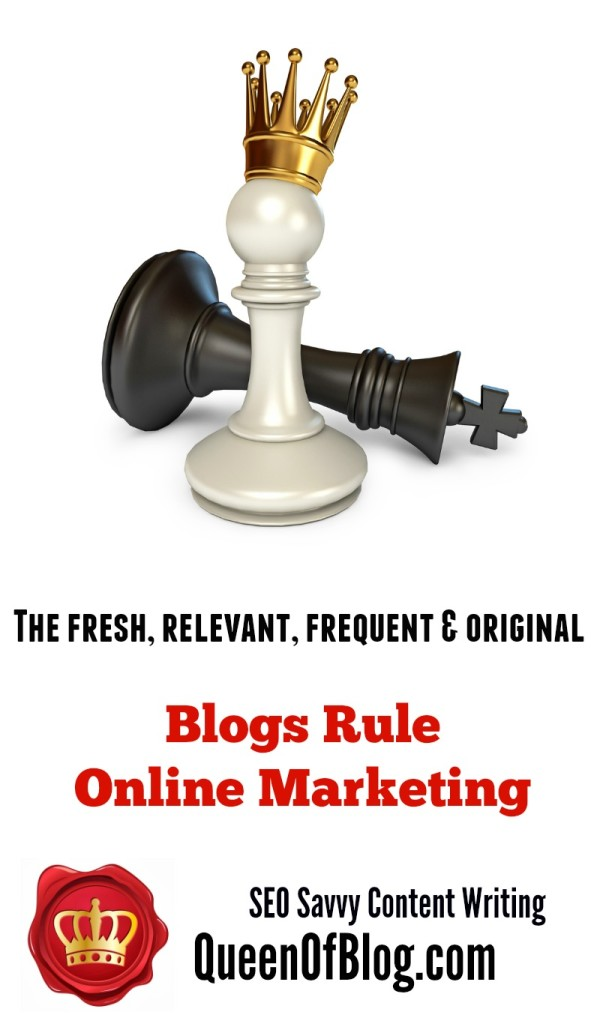 Blogs Are To SEO Savvy Content Writing What The Pawn Is To Chess