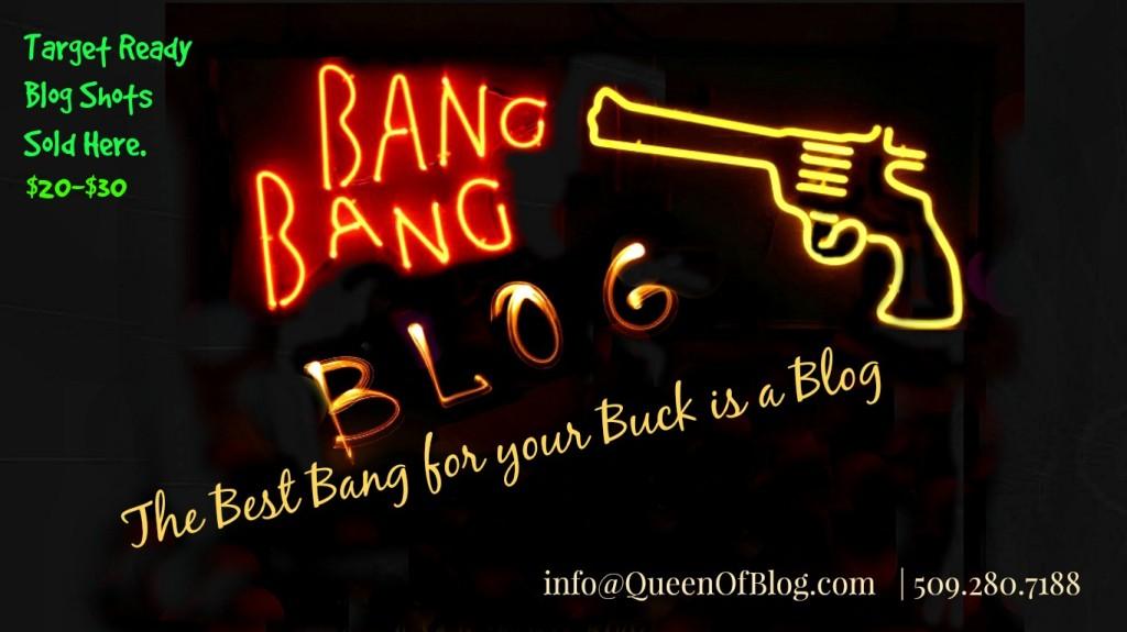 Targeted Blogging - Blog Shots Sold Here!